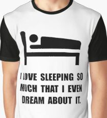 Love Sleeping Graphic T-Shirt