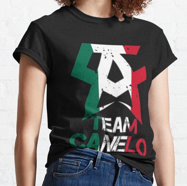 Canelo Alvarez - CANELO ALVAREZ trending   EQUIPO CANELO Camiseta clásica