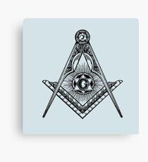 Masonic Icon Canvas Print