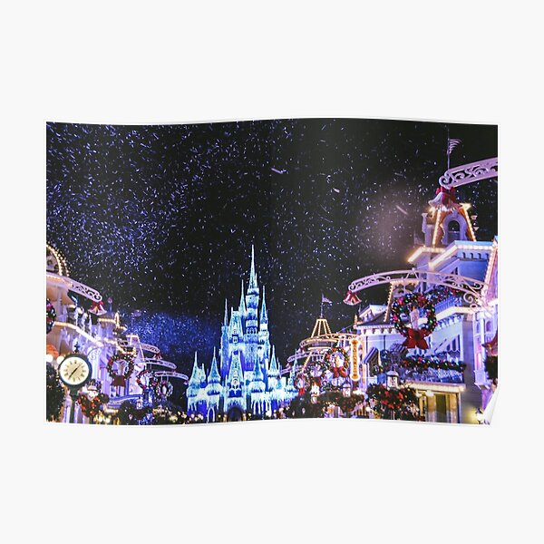 Christmas on Main Street Poster