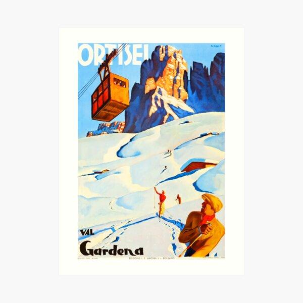Ortisei Val Gardena, Italy Art Print