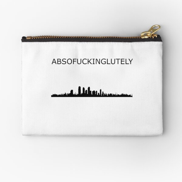 Absofuckinglutely Zipper Pouch