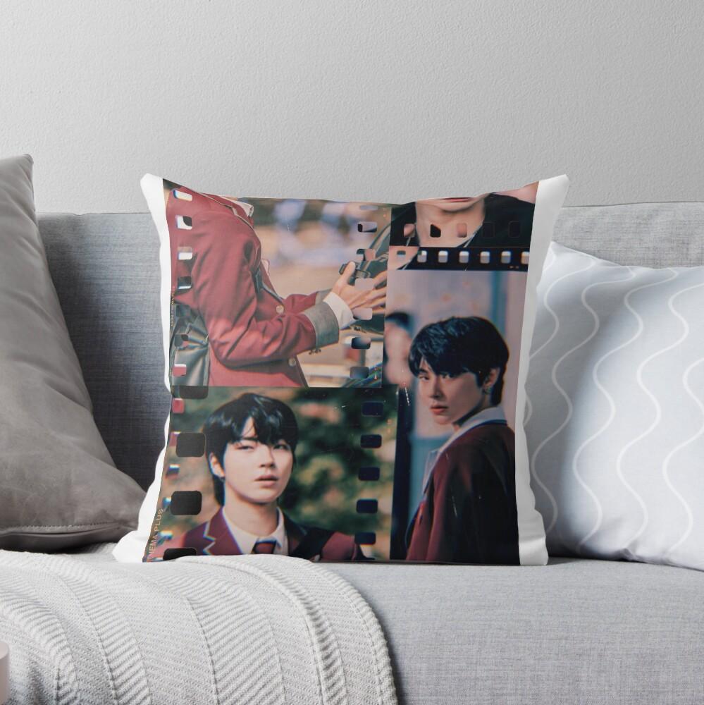 Seojun True Beauty Throw Pillow By Avseeno Redbubble