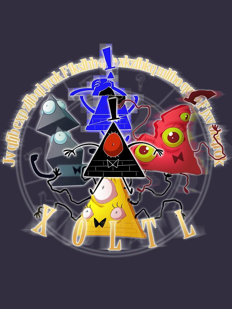 Bill Cipher - X O L T L  by CrispyCh0colate