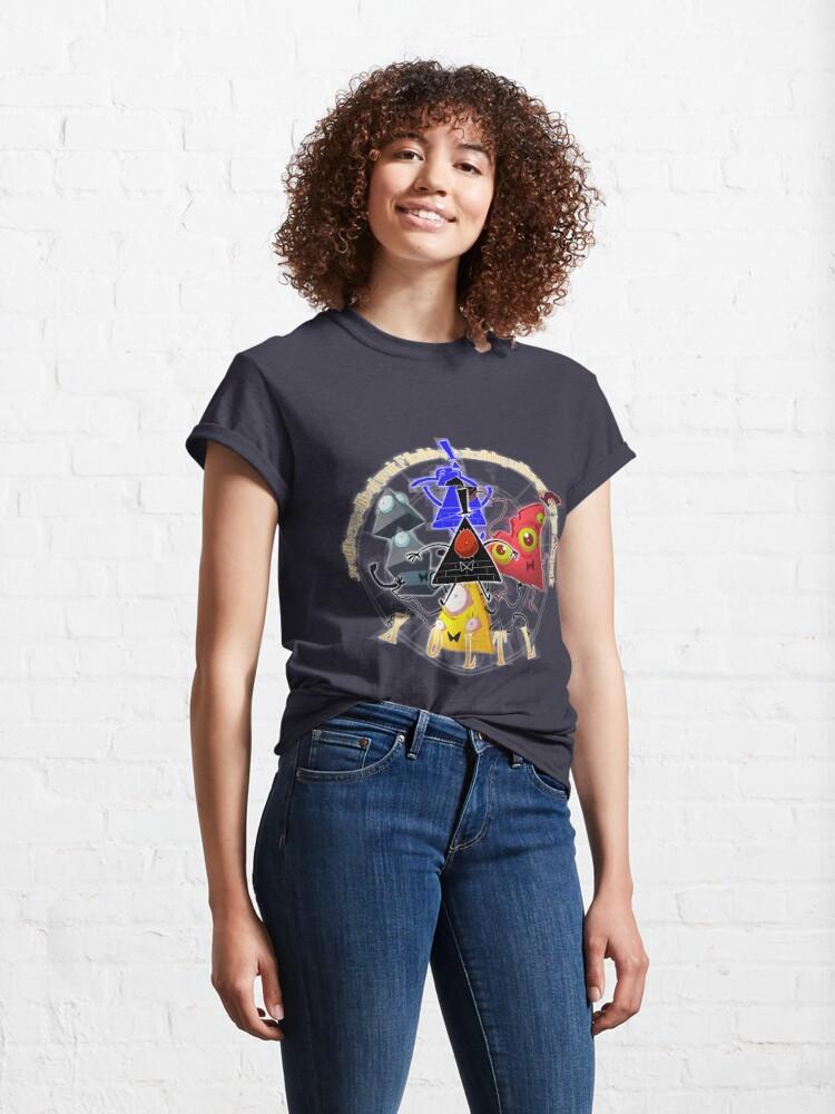 Alternate view of Bill Cipher - X O L T L  Classic T-Shirt
