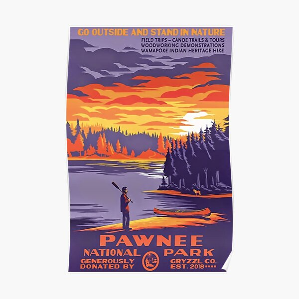 Pawnee National Park Poster