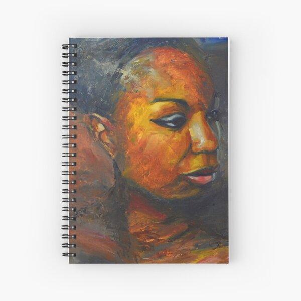 Misunderstood - Nina Simone Spiral Notebook