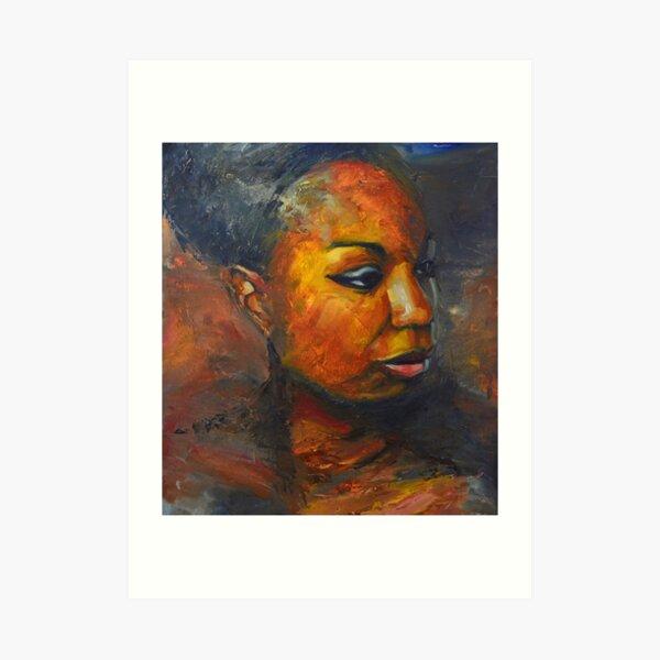 Misunderstood - Nina Simone Art Print