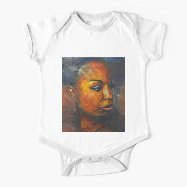Misunderstood - Nina Simone Short Sleeve Baby One-Piece