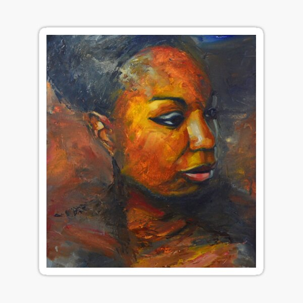 Misunderstood - Nina Simone Sticker