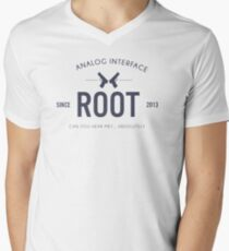 Person of Interest - Root Men's V-Neck T-Shirt