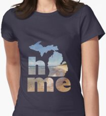 Michigan Home Womens Fitted T-Shirt