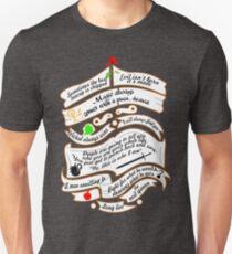 Zitate. Slim Fit T-Shirt