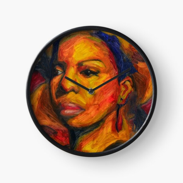 I Put A Spell On You - Nina Simone Clock