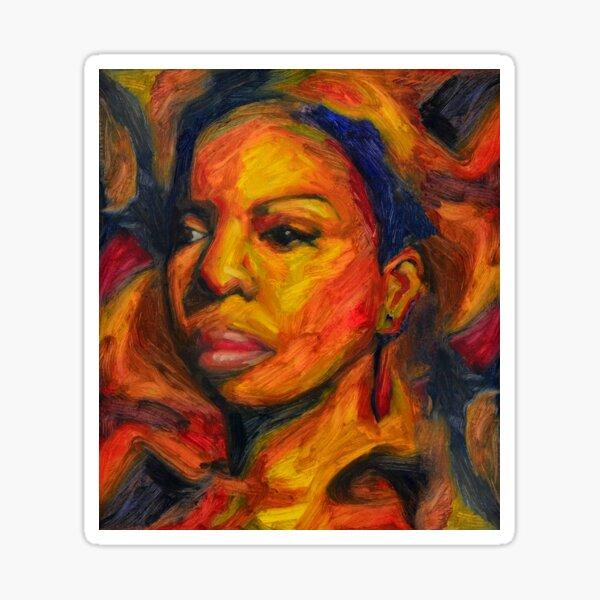 I Put A Spell On You - Nina Simone Sticker