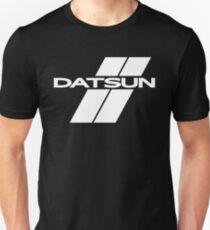 Datsun Stripes (White) Unisex T-Shirt