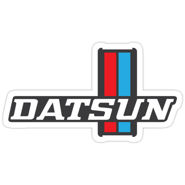 """""""Datsun 620 Emblem"""" Stickers by The World Of Pootermobile ..."""