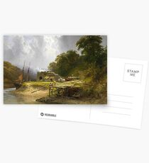George Cole - Early Morning on the Tamar, Devon  Postcards