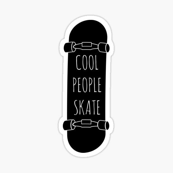Cool People skate Pegatina