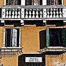 Windows in Venice by gluca