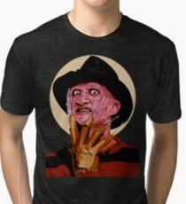 Freddy Krueger - A Nightmare on Elm Street Tri-blend T-Shirt