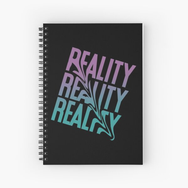 reality ıllusion Spiral Notebook