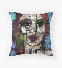 Dead Before I'm Born Throw Pillow