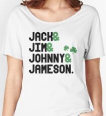 Jack & Jim & Johnny & Jameson Women's Relaxed Fit T-Shirt