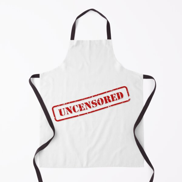 Uncensored Stamp Apron