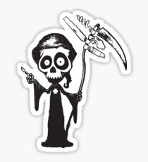 Swiss reaper v2 Sticker