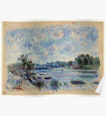 Renoir Auguste - Landscape At Beaulieu Poster