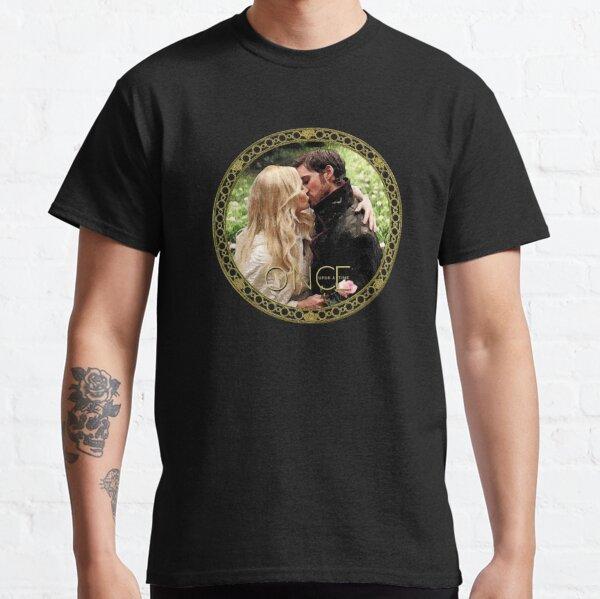 Captain Swan Camelot Garden Digital Watercolor Design 2 Classic T-Shirt