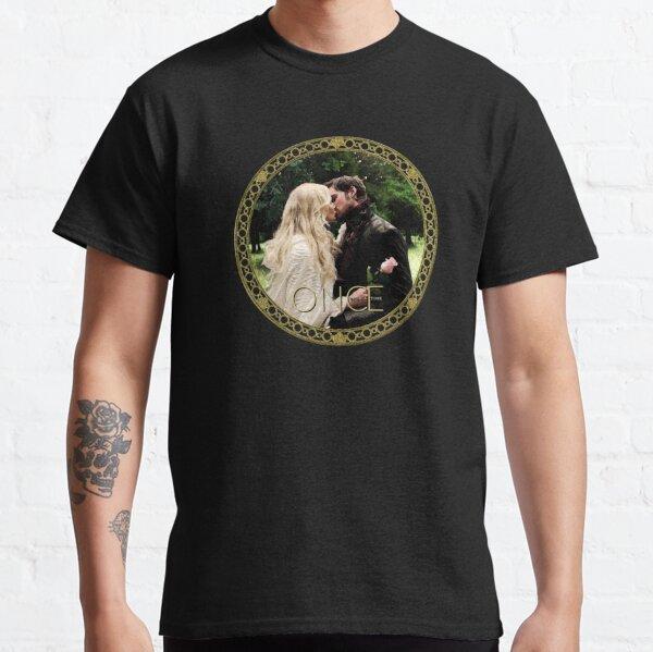 Captain Swan Camelot Garden Digital Watercolor Design 1 Classic T-Shirt