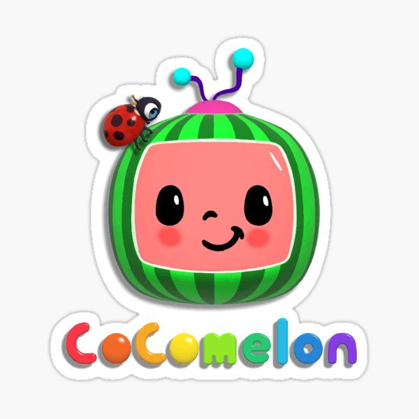 Nursery Rhymes Cocomelon Kids Favorite Collection Pegatina