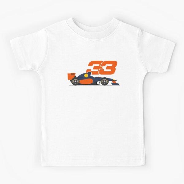 Max Verstappen 33 Formula1 Mad Max f1 Voiture Red Bull Racing 2021 T-shirt enfant