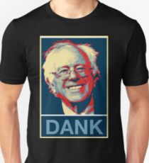 "Bernie Sanders Official ""Dank"" Apparel Unisex T-Shirt"