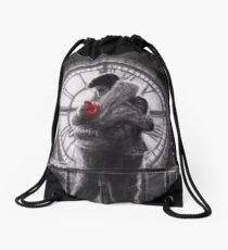 Heart In Hand Drawstring Bag