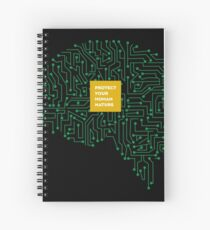 protect your human nature Spiral Notebook