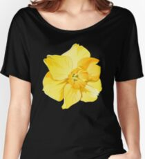 Yellow Spring Daffodil Graphic Women's Relaxed Fit T-Shirt