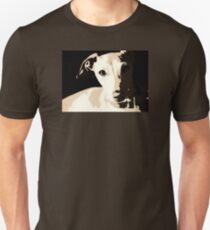 Poster of an Italian Greyhound Portrait T-Shirt