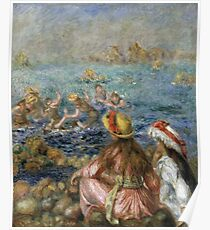 Renoir Auguste - The Bathers Poster