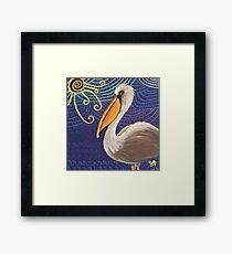 The OG Pelican Framed Print