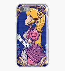 Stained-Glass Peach iPhone Case/Skin
