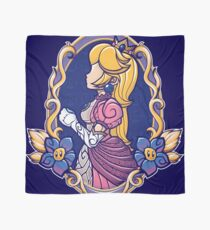 Stained-Glass Peach Scarf
