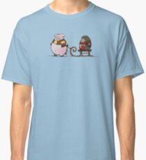 Pig and hedgehog Classic T-Shirt