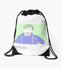 jacksepticeye pastel Drawstring Bag