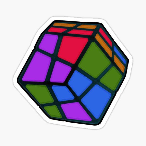 Magic Cube Puzzle Sticker