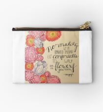 Normality Quote Studio Pouch
