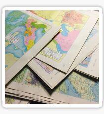 Maps on Maps  Sticker