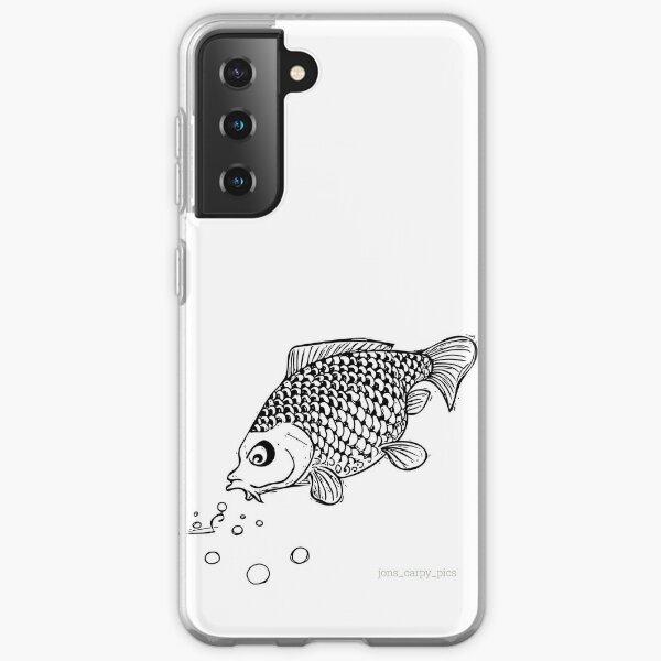 carp feeding on boilies Samsung Galaxy Soft Case